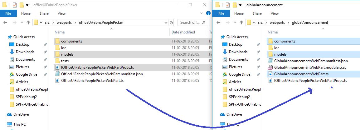 SharePoint Framework with CKeditor5, PnP JS, OfficeUIFabric