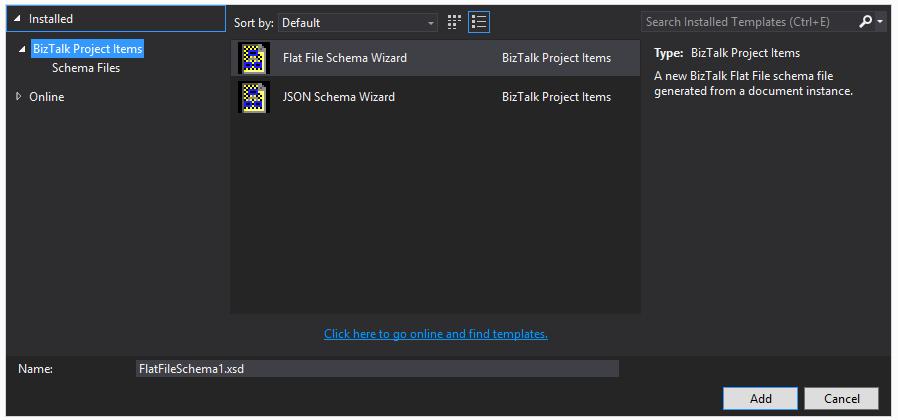 Visual Studio 2013 missing BizTalk Templates from Add New Item ...