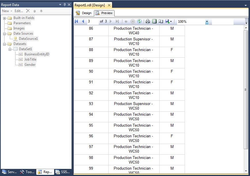 SSRS: How to Repeat Headers on Each Page - TechNet Articles