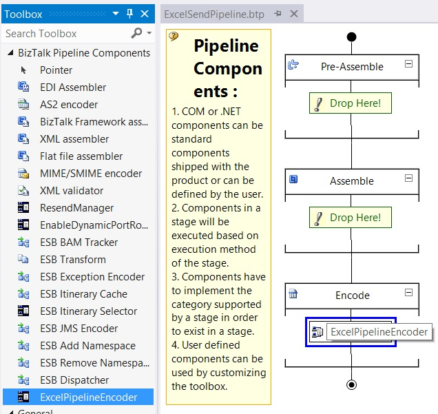 excel pipeline