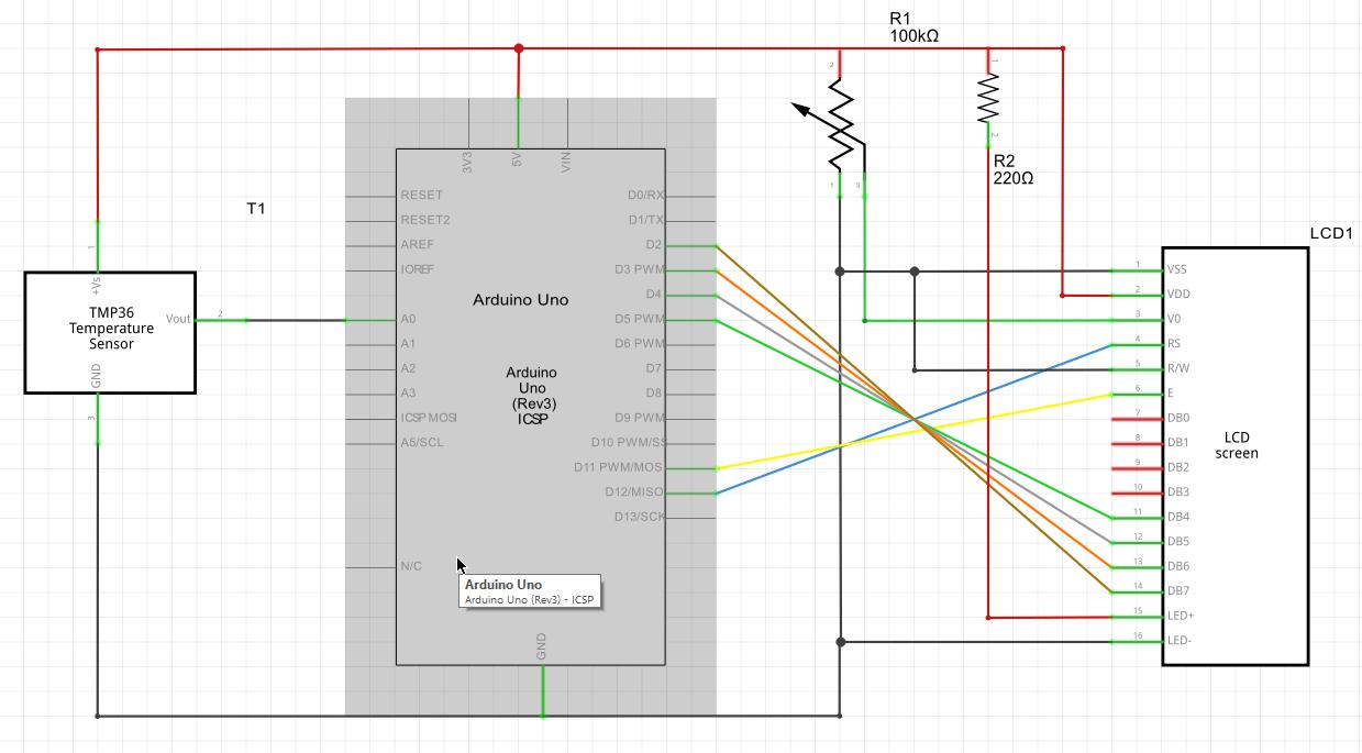 C Leggere La Temperatura Con Arduino Uno It Technet Grixit Forum Come I Circuiti Elettrici Su Elettronica Immagine 18 Schema Elettronico Del Circuito 19 Anteprima Elettrico