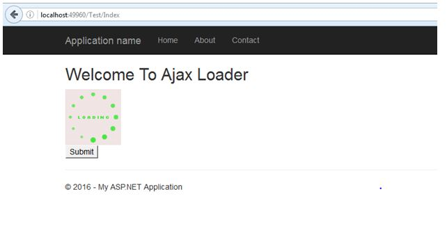 Enable Ajax Loader in ASP NET MVC 5 Step By Step - TechNet