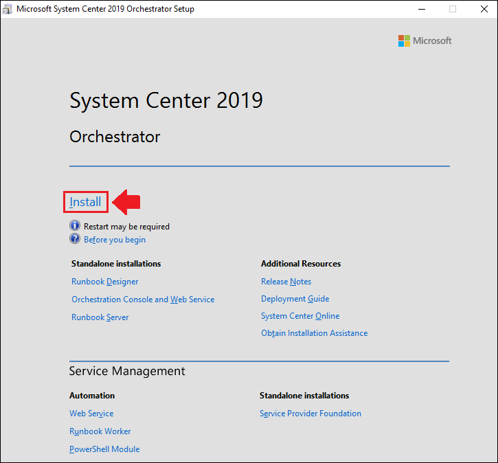 Upgrading to Orchestrator 2019 Step-by-Step - TechNet