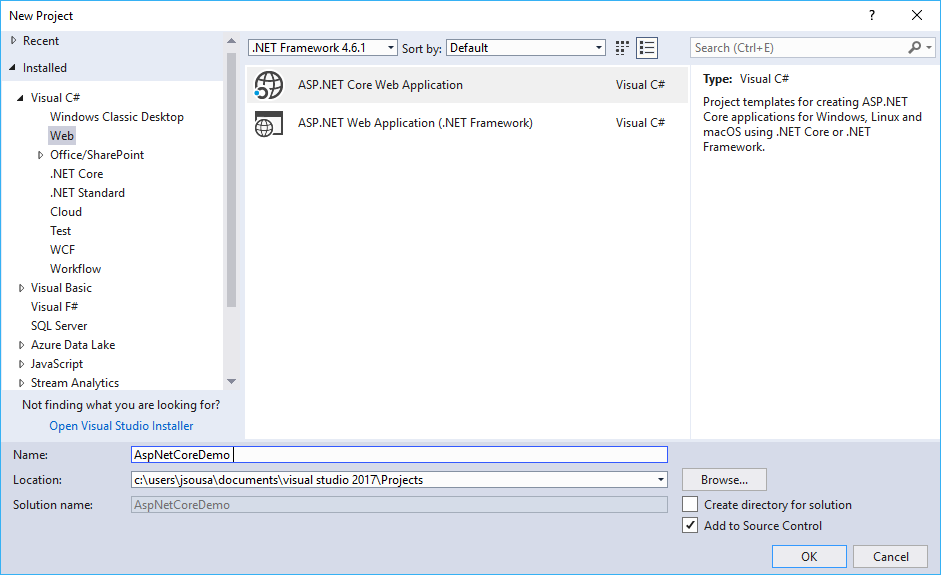 ASP.NET Core 2.0 - Apply bootstrap template - TechNet Articles ...