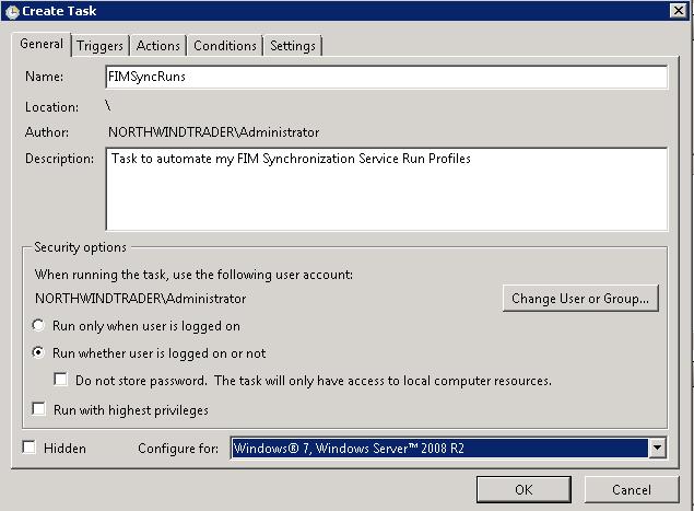 FIM Reference: How to automate run profiles via the script button
