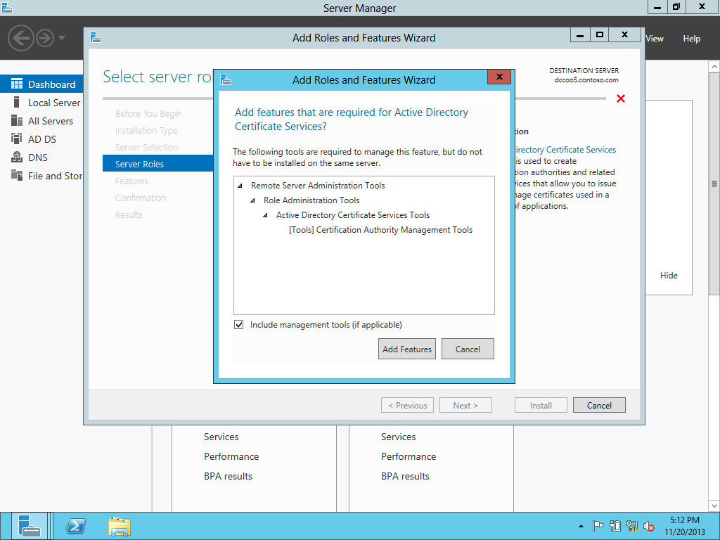 Upgrading the pki from windows server 2008 r2 to windows server installing the ca role on the new ca server 1betcityfo Image collections