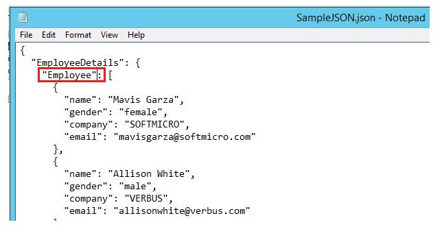 SQL Server 2016: Bulk Import JSON file data to Table - TechNet