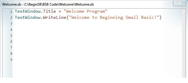 Small_Basic_editor