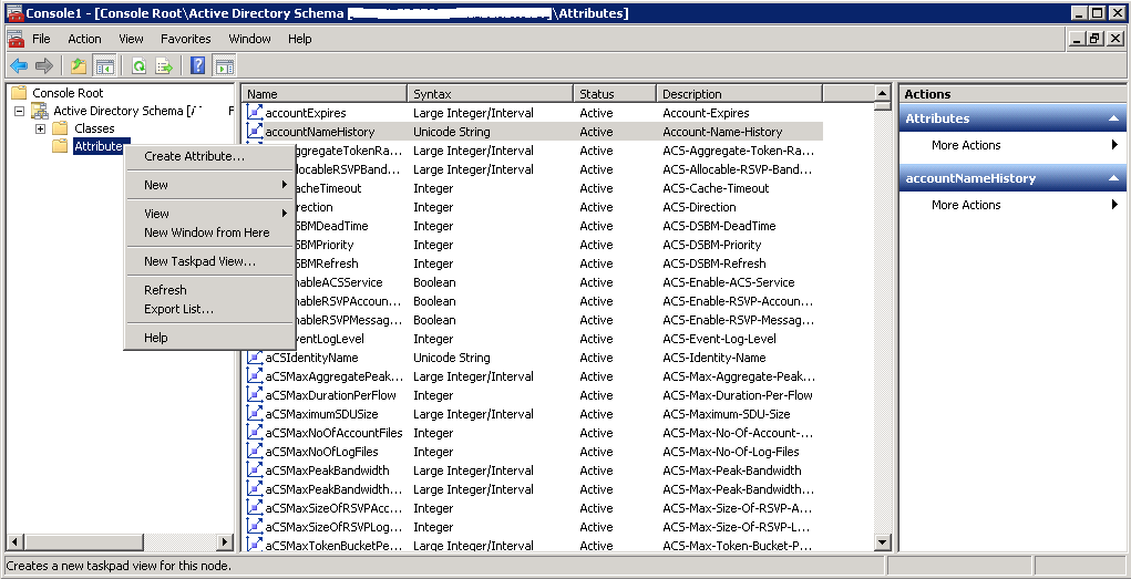 How to Create a Custom Attribute in Active Directory - TechNet